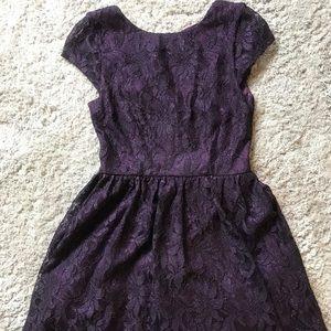 Speechless Purple Dress